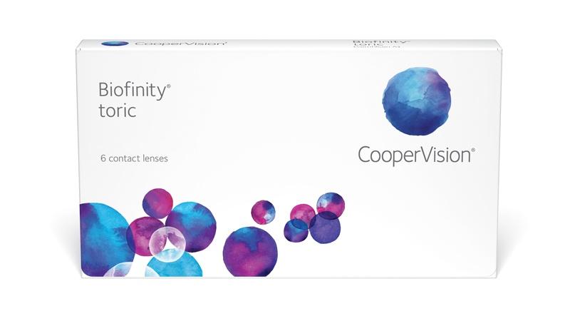 Biofinity toric 6-pack