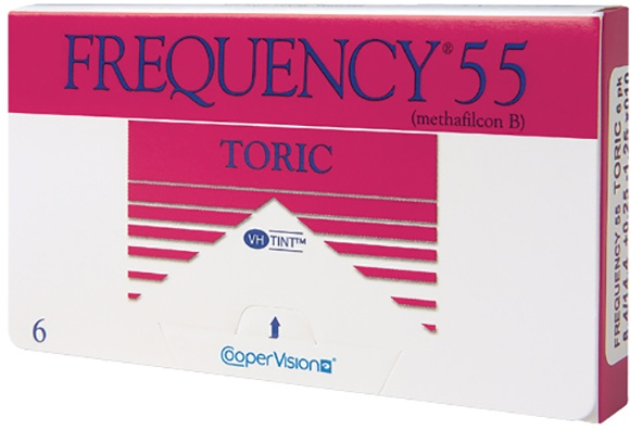 Frequency 55 Toric 6 pack