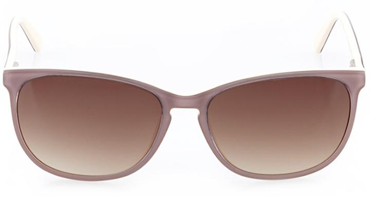 la chaux-de-fonds: women's square sunglasses in pink - front view