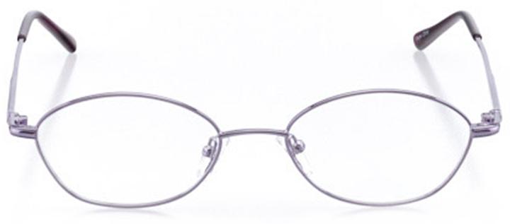 berea: women's cat eye eyeglasses in purple - front view