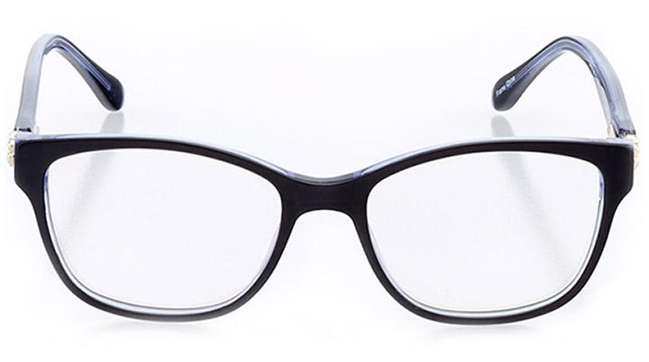 saint-brieuc: women's square eyeglasses in blue - front view