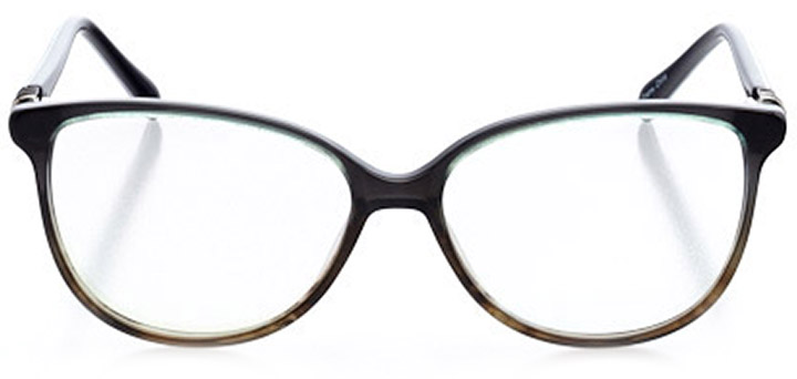 sancerre: women's oval eyeglasses in blue - front view