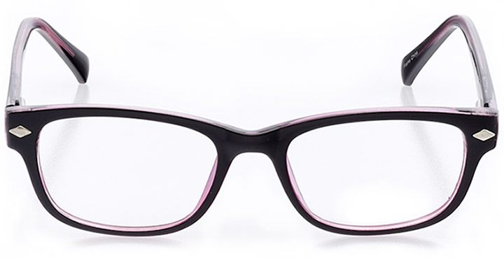 salento: women's square eyeglasses in pink - front view