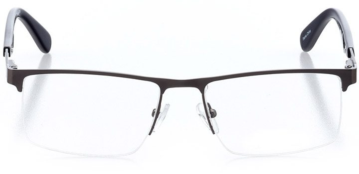islamorada: men's square eyeglasses in blue - front view
