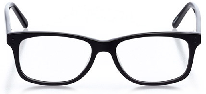 jensen beach: men's square eyeglasses in blue - front view