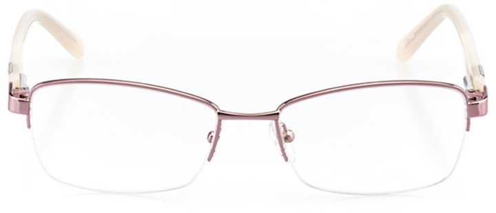 casablanca: women's square eyeglasses in pink - front view