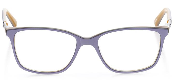 saint petersburg: women's cat eye eyeglasses in purple - front view