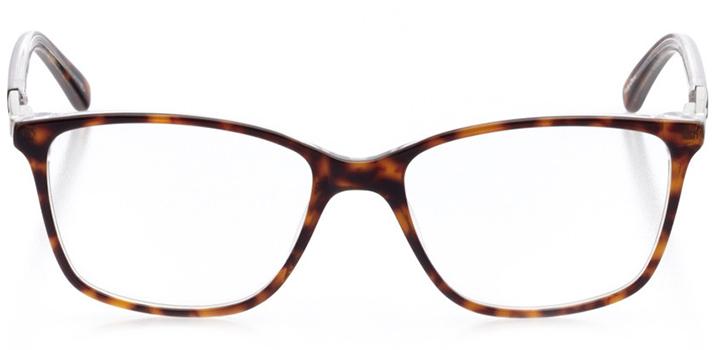 saint petersburg: women's cat eye eyeglasses in tortoise - front view