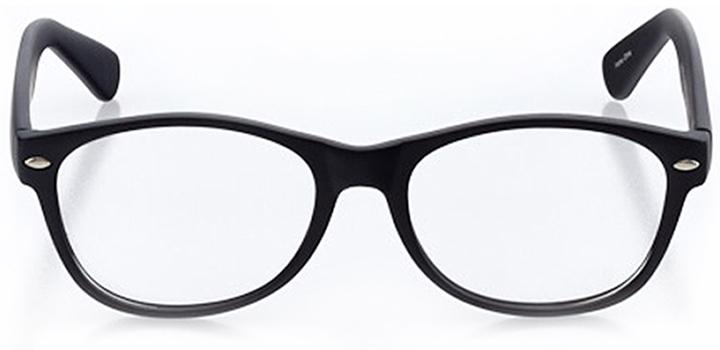 innsbruck: round eyeglasses in black - front view
