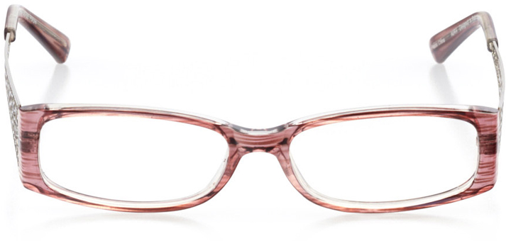 rio de janeiro: women's rectangle eyeglasses in purple - front view