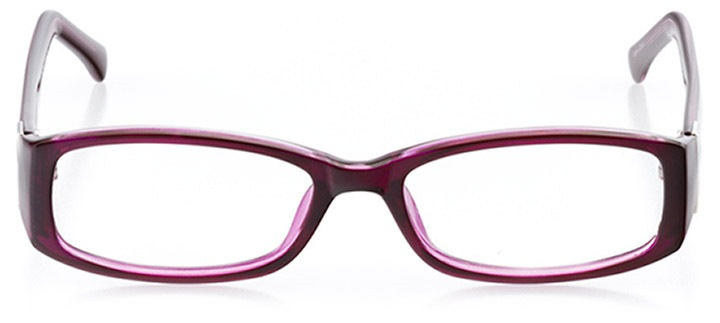 villach: women's rectangle eyeglasses in purple - front view