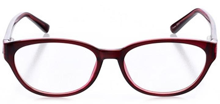 sintra: women's oval eyeglasses in purple - front view