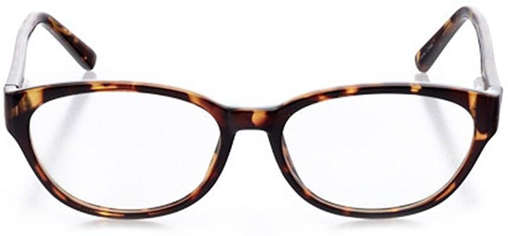 sintra: women's oval eyeglasses in tortoise - front view