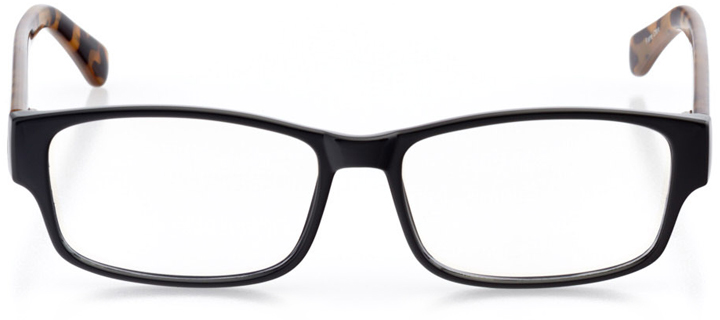 monte carlo: women's rectangle eyeglasses in tortoise - front view