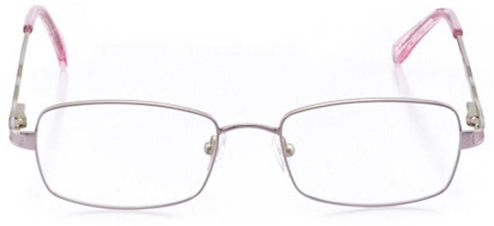 sonoma: women's rectangle eyeglasses in purple - front view