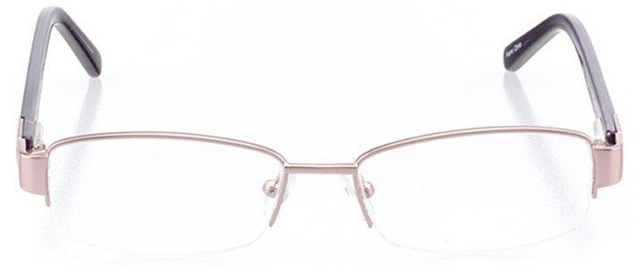 havre de grace: women's rectangle eyeglasses in purple - front view