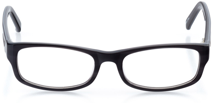 providence: boys' rectangle eyeglasses in gray - front view
