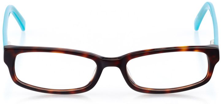 flagstaff: rectangle eyeglasses in tortoise - front view