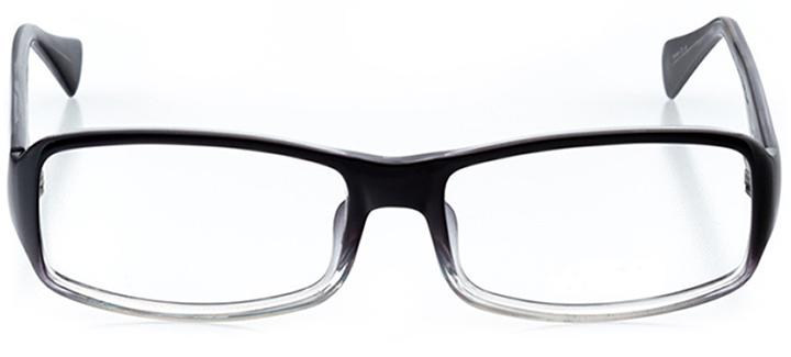 zürich: men's rectangle eyeglasses in brown - front view