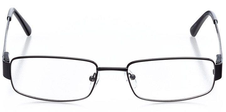 whistler: men's rectangle eyeglasses in gray - front view