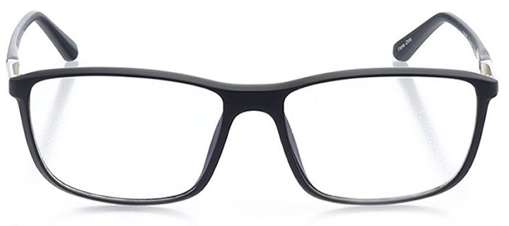 cusco: men's rectangle eyeglasses in gray - front view