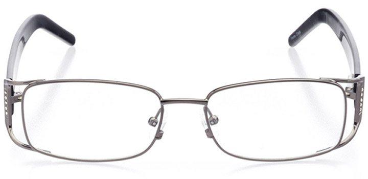 jesi: women's rectangle eyeglasses in gray - front view