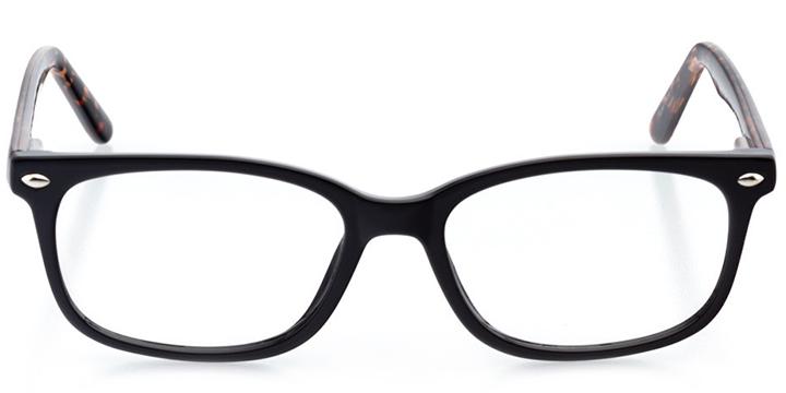 bangkok: women's rectangle eyeglasses in tortoise - front view