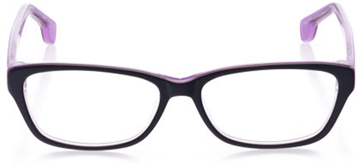 westerly: women's cat eye eyeglasses in purple - front view