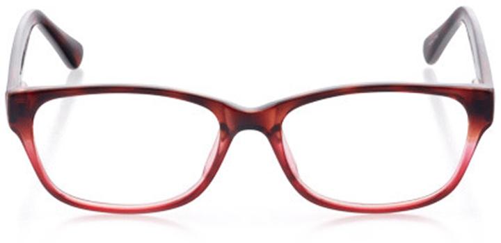 new orleans: women's cat eye eyeglasses in tortoise - front view