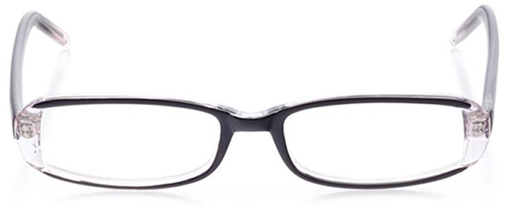 lafayette: women's rectangle eyeglasses in purple - front view