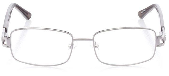 sora: women's rectangle eyeglasses in gray - front view