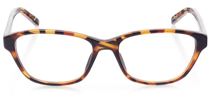 savona: women's cat eye eyeglasses in tortoise - front view