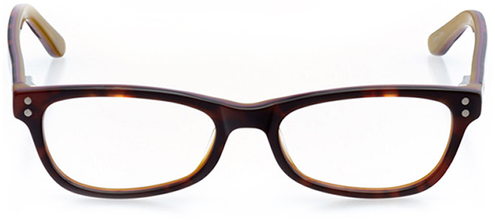 bellingham: rectangle eyeglasses in tortoise - front view