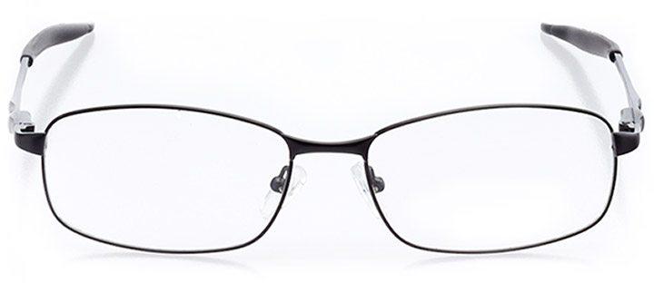 san gregorio: men's rectangle eyeglasses in black - front view
