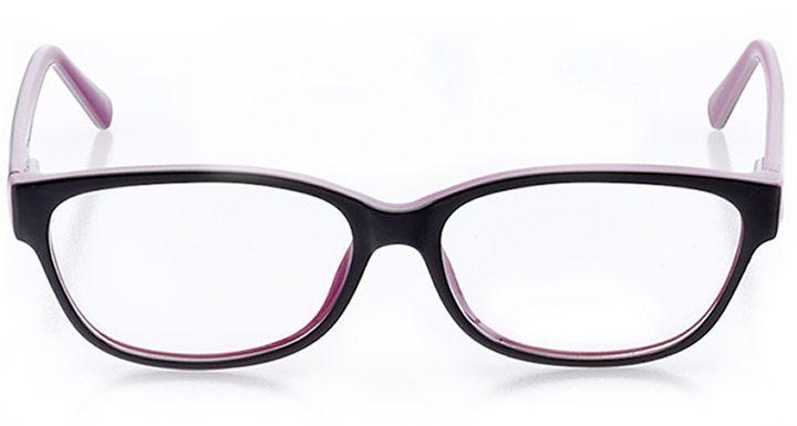 malibu: women's cat eye eyeglasses in purple - front view