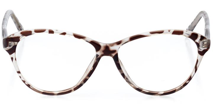 dresden: women's cat eye eyeglasses in gray - front view