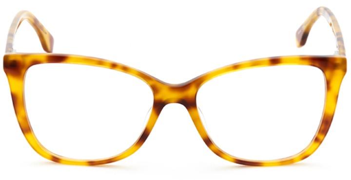 chartres: women's cat eye eyeglasses in tortoise - front view