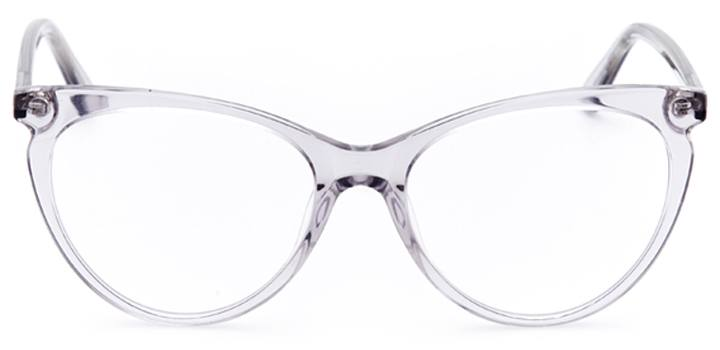 pau: women's cat eye eyeglasses in gray - front view