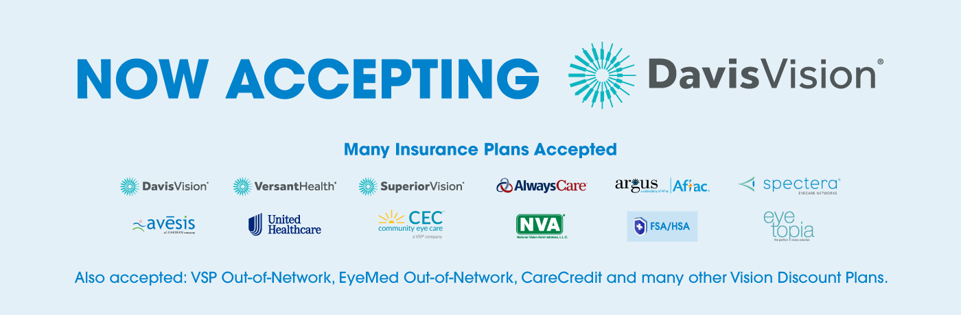 Check your vision Insurance now!