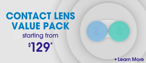 Contact lense value pack