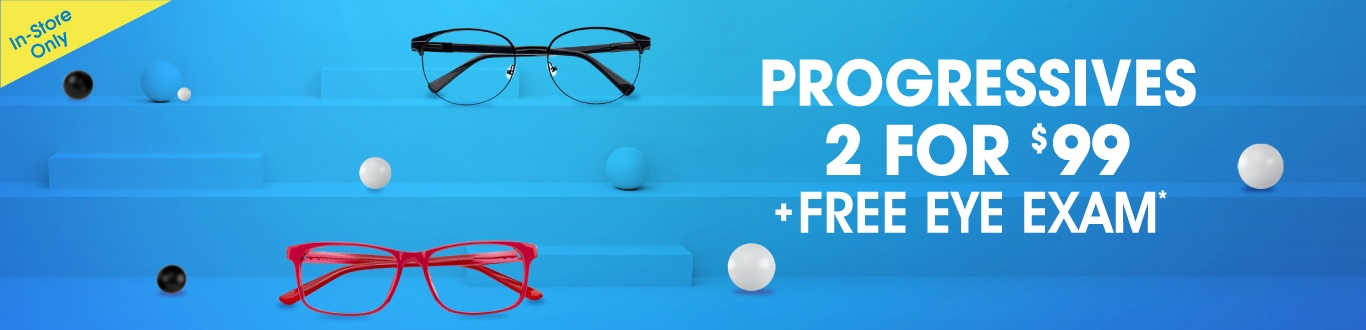 Kids get a free eye exam for back to school*