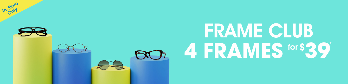 Join the Frame Club and get 4 Frames for $39*